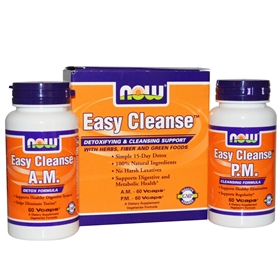 NOW Easy Cleanse, AM & PM
