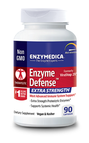 Enzymedica Enzyme Defense Extra Strength, 90 Caps