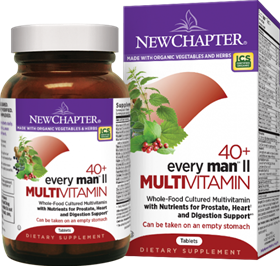 New Chapter  Every Man II  48 Tablets