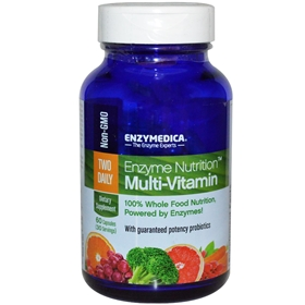 Enzymedica Enzyme Nutrition Two Daily, 60 Caps