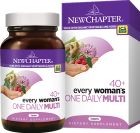 New Chapter  Every Woman's One Daily 40+  96 tabs