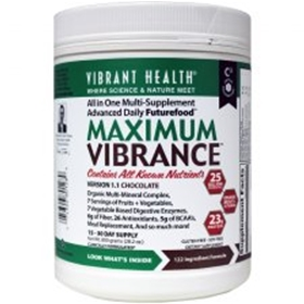 Vibrant Health Maximum Vibrance, Chocolate, 800 gms