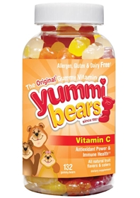 Hero Yummi Bears Vitamin C, 132 Yummi Bears
