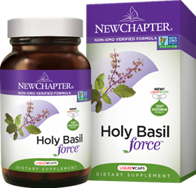 New Chapter  Holy Basil Force  60 Caps