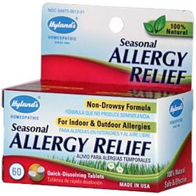 Hyland's Seasonal Allergy Relief, 60 tabs