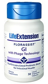 lifeExtention - FLORASSIST® GI with Phage Technology