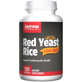 Jarrow Formulas Red Yeast Rice + COQ10, 120 caps
