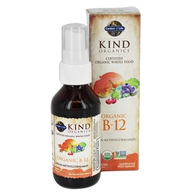 Garden of Life Kind Organics B12, 2 fl oz