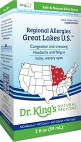 King Bio  Regional Allergies: Great Lakes U.S.  2 ounces