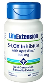 Life Extension 5-LOX Inhibitor with Apresflex, 100 mg, 60 V caps
