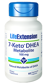 Life Extension 7-Keto DHEA Metabolite, 100mg, 60 Vcaps