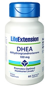Life Extension DHEA 100mg, 60 caps