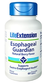 Life Extension Esophageal Guardian, 60 Chewable tablets, Berry