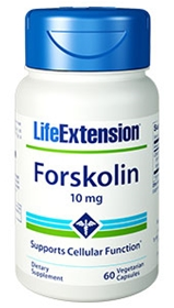 Life Extension Forskolin, 10mg, 60caps