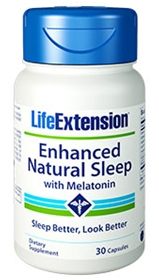 Life Extension Enhanced Natural Sleep with Melatonin, 30 caps