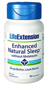 Life Extension Enhanced Natural Sleep without Melatonin, 30 caps