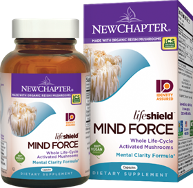 New Chapter  LifeShield Mind Force  60 Vcaps