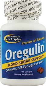 North American     Herb & Spice Oregulin, 90 gels