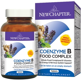 New Chapter  Coenzyme B Food Complex  30 tabs