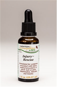 Newton Homeopathics Pets INJURY-RESCUE, 1 fl oz Liquid