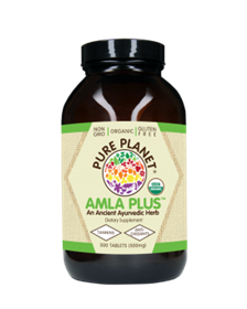 Pure Planet Amla-C Plus, 500 Tabs