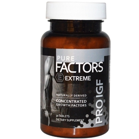 Pure Solutions Pure IGF Extreme,12.5mg, 30 Sublingual Tabs