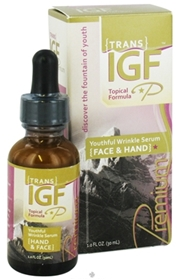 Pure Solutions Trans-IGF Premium Hand & Face Serum, 1oz