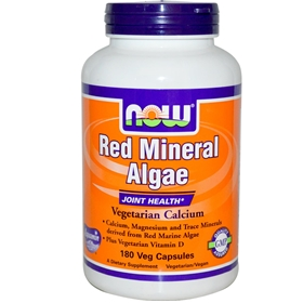 Now Red Mineral Algae, 180 Vcaps