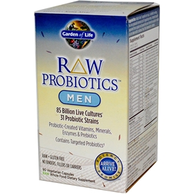 Garden of Life RAW Probiotics Men, 90 caps