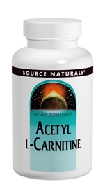 Source Naturals Acetyl L-Carnitine, 250mg, 120 tabs