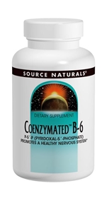 Source Naturals Coenzymated B-6, 300mg, 30 tabs