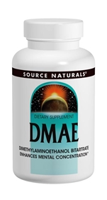 Source Naturals DMAE, 351 mg, 200 caps