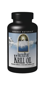 Source Naturals ArticPure Krill Oil, 500mg, 60 gels
