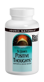 Source Naturals St Johns Positive Thoughts, 90 tabs
