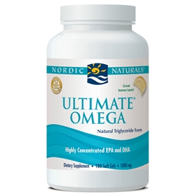 Nordic Naturals Ultimate Omega, 180gels, Lemon Flavored