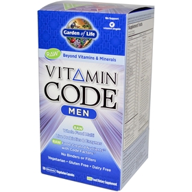 Garden of Life Vitamin Code Men's Formula, 120 caps