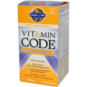 Garden of Life Vitamin Code Perfect Weight Formula, 120 Caps