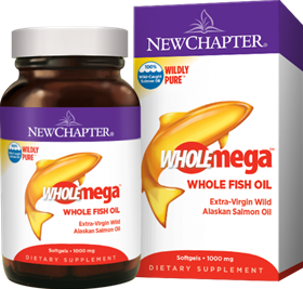New Chapter  Wholemega  60 Softgels